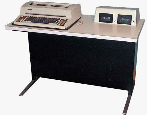 image of Wang 1220 word processor